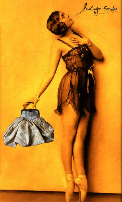 Lady Tutú estrena bolso nuevo...