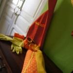 Bolsa de pan de boquilla ,guantes, delantal y guarda bolsas