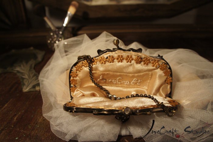 Bolso boquilla Clara Bow interior