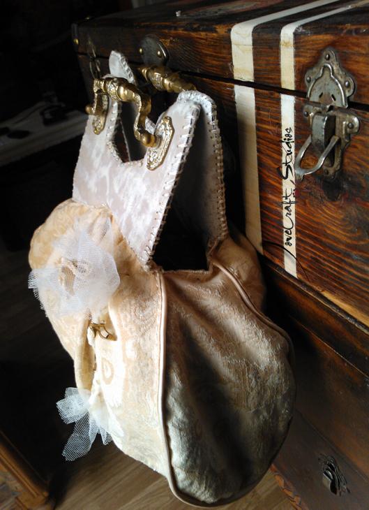 Bolso de mano Edith Piaf detalle lateral