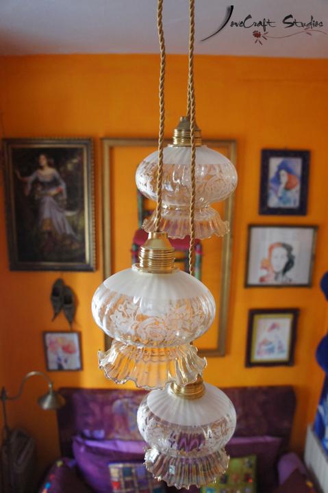 Lámpara de Techo LoveCraft desde arriba