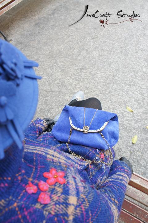 Bolso boquilla Mary Klein plegado